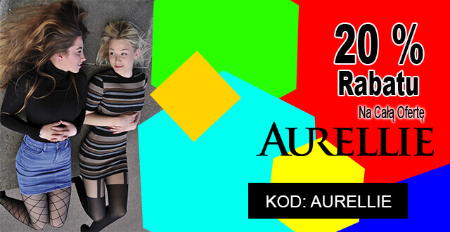 20% rabatu na całą ofertę Aurellie - kod: AURELLIE