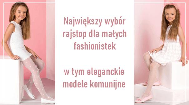 Największy wybór rajstop dla małych fashionistek baner